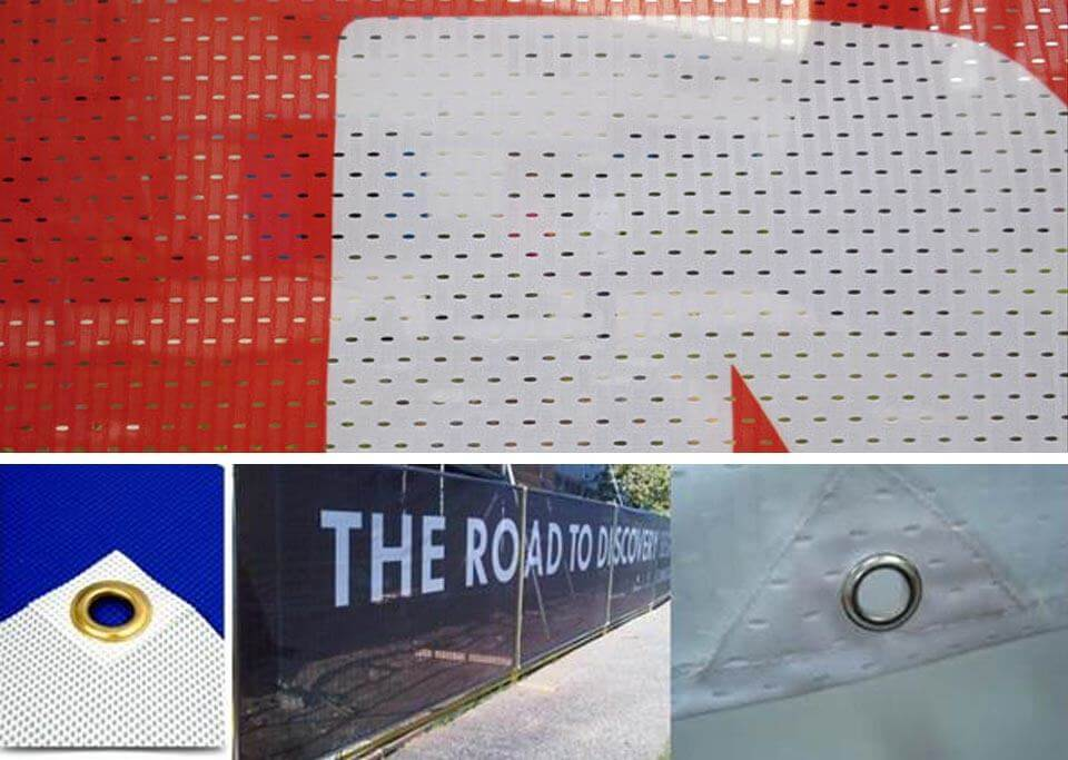 Custom Polyester Mesh Banners
