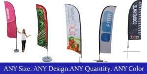 custom swooper flags outdoor feather flags feather flags with pole feather flags