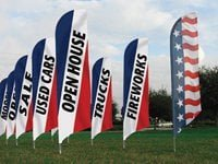 hot dog swooper flags 8' feather flag pole kit church feather flags feather flags
