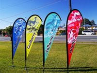 cheap teardrop flag teardrop flags brisbane teardrop banners wholesale teardrop advertising banners