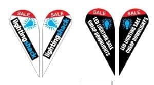 cheap teardrop flag teardrop flags melbourne teardrop banners melbourne printed teardrop flags