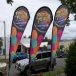 cheap teardrop flag teardrop flag printing teardrop flags perth teardrop flag design