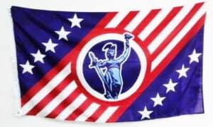 custom flag double sided or single sided custom printed flag