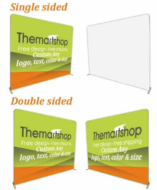 tension backdrop stand fabric display walls tension fabbic display