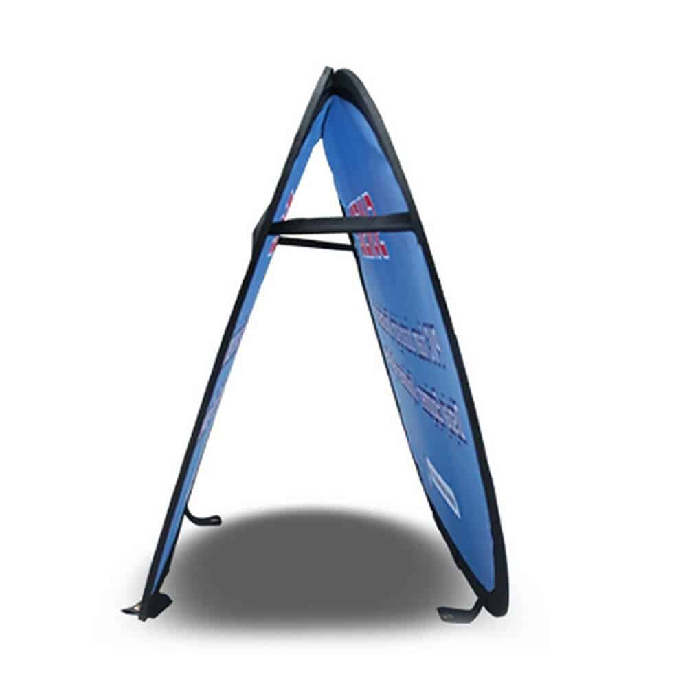 Free Design Free Design A-Frame Banner Stand Pop Out Banners Pop Up Advertising Signs