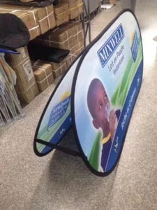 Free Design Free Design A-Frame Banner Stand Golf Pop Up A Frame Banner A Frame Banner