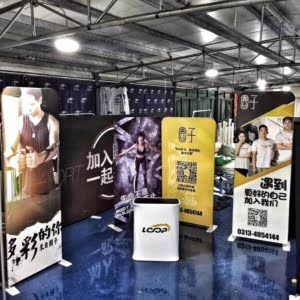 stretchy fabric backdrop stretch fabric signage tension fabbic display