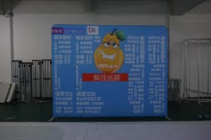 10ft straight tension fabric display curved fabric display stretch fabric display booth tension fabric exhibition stands 20x20 tension fabric displays